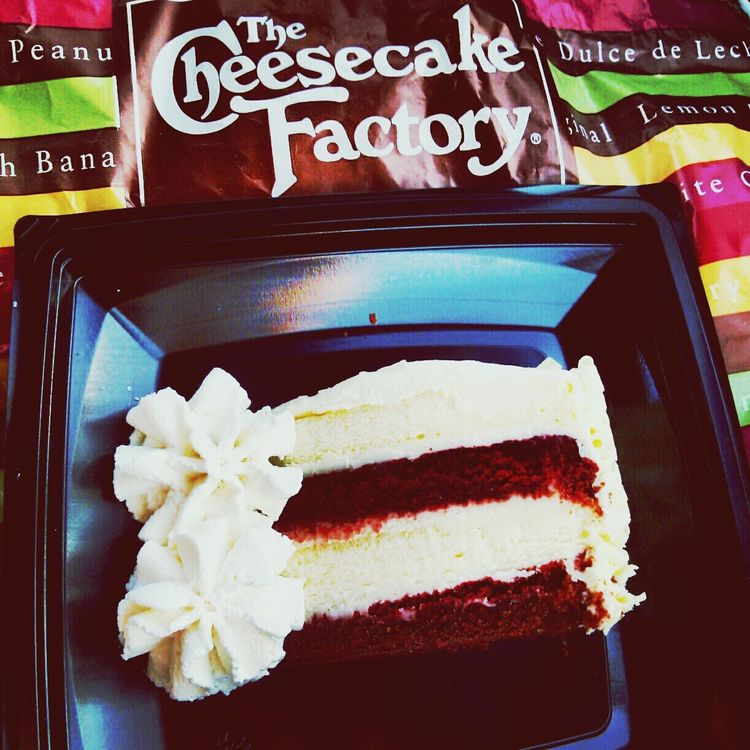 The Cheese Cake Factory Red Velvet Sweet Tooth Enjoying Life