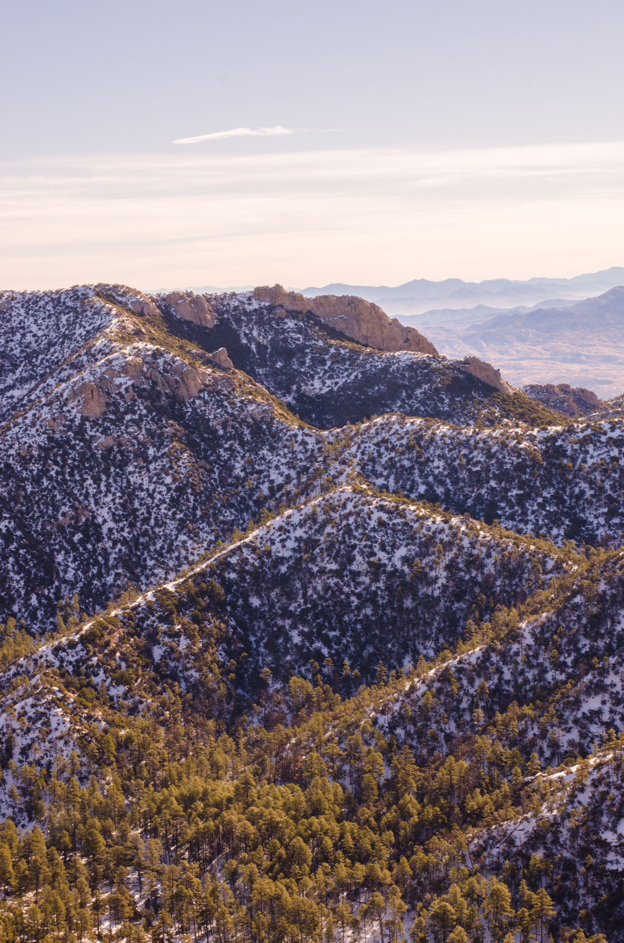 High Angle View Majestic Mountain Mountain Range Mt. Lemmon, Nature Outdoors Physical Geography Snow The Great Outdoors - 2016 EyeEm Awards