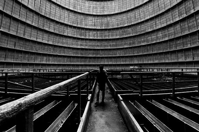Blackandwhite Photography Architecture Silhouette Indoors  Science Fiction