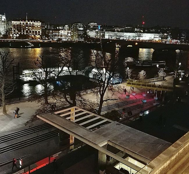 Night Photography Night Lights Thames River Embankment South Bank London Night View Nightlife River View River River At Night United Kingdom