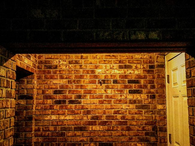 """""""Through Alcove"""" Throughalcove Brick Wall Architecture Built Structure Building Exterior Window Brick Residential Building Residential Structure Day Outdoors Exterior No People Architectural"""