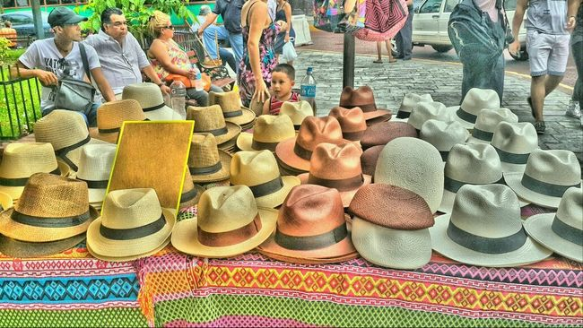 Panama Hat. West Indian Festival. Kirche Platz Etnic West Indian Festival People Watching