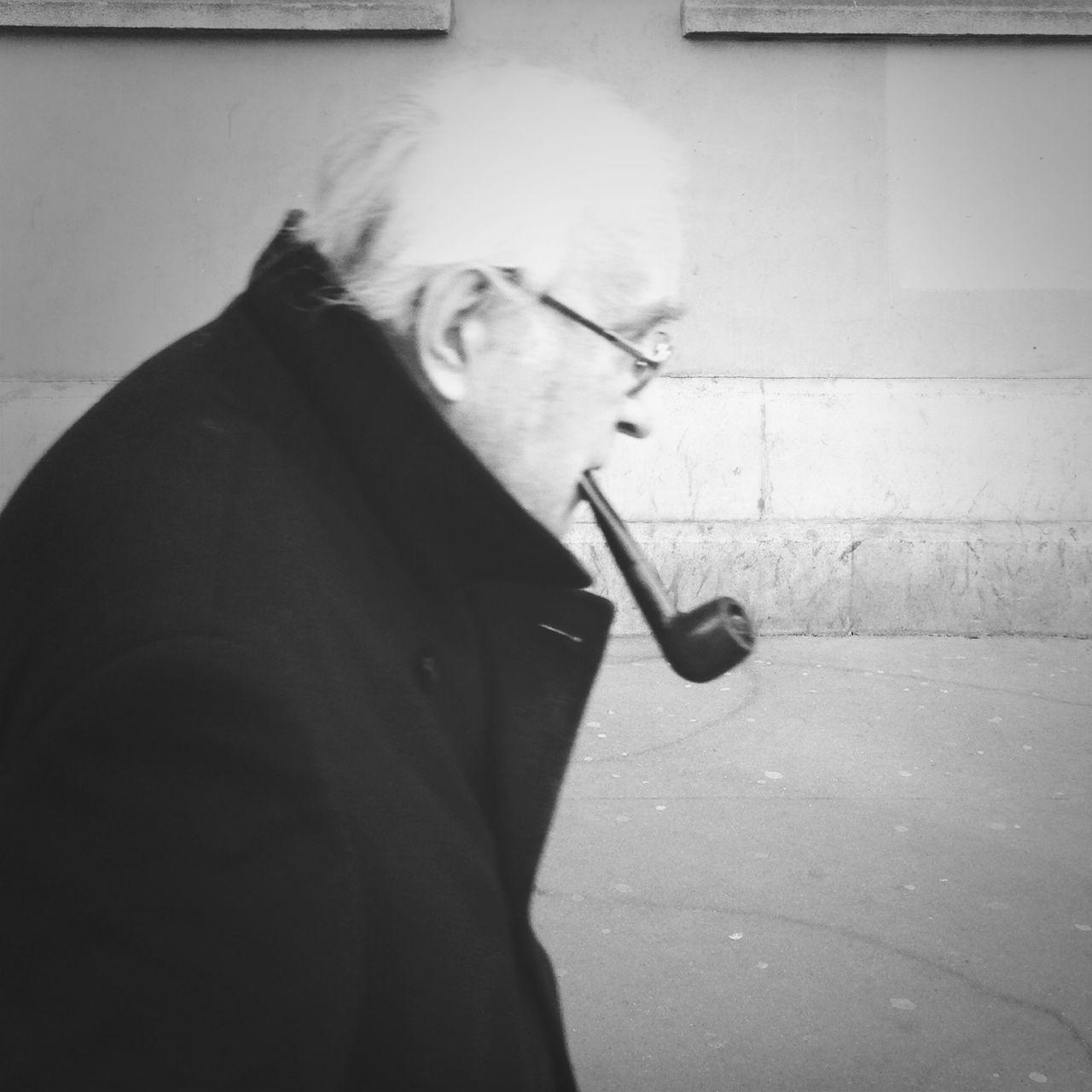 Paris personified Paris Pipe Smoking Old Man