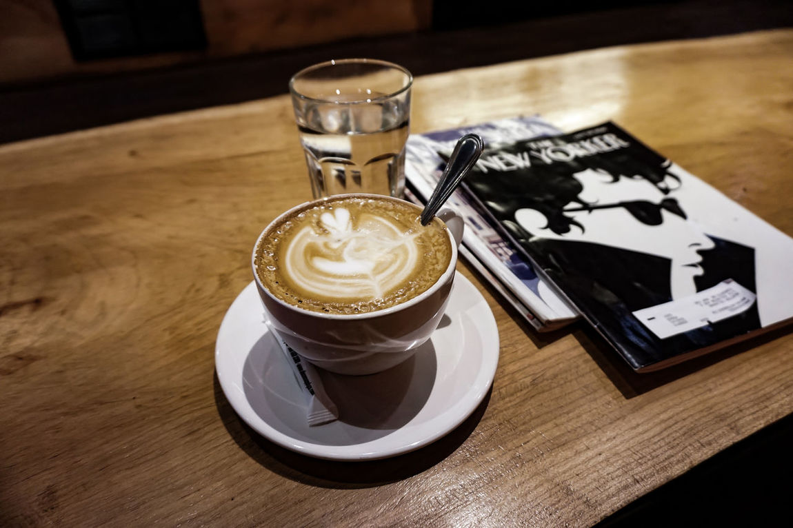 Art Canada Cappuccino Coffee - Drink Coffee Cup Coffee Lover Composition Fine Art Photography Food And Drink Still Life Streetphotography The New Yorker Toronto Enjoy The New Normal