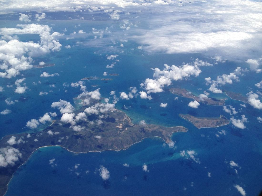 Aerial Shot Aerial View Beauty In Nature Cloud - Sky Day Flying High From An Airplane Window Landscape Nature No People Outdoors Satellite View Scenics Sea Water
