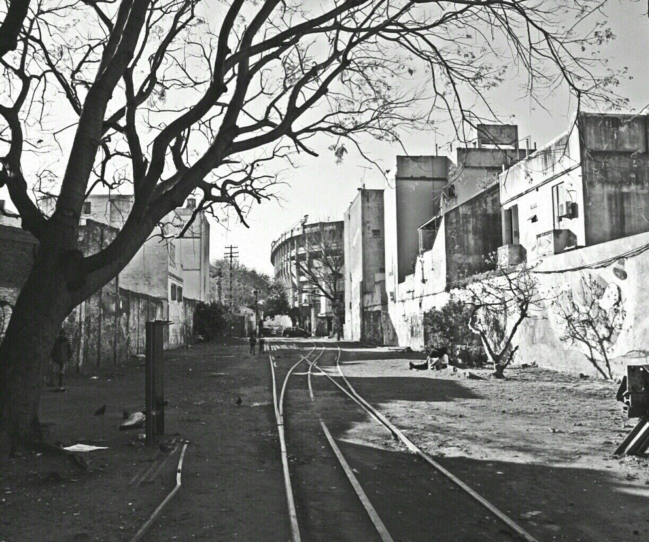 Argentina Photography El Caminito Argentina Silhouette Open Edit Travel Black & White Blackandwhite Photography EyeEm Best Shots - Black + White Traveling EyeEm Buenos Aires