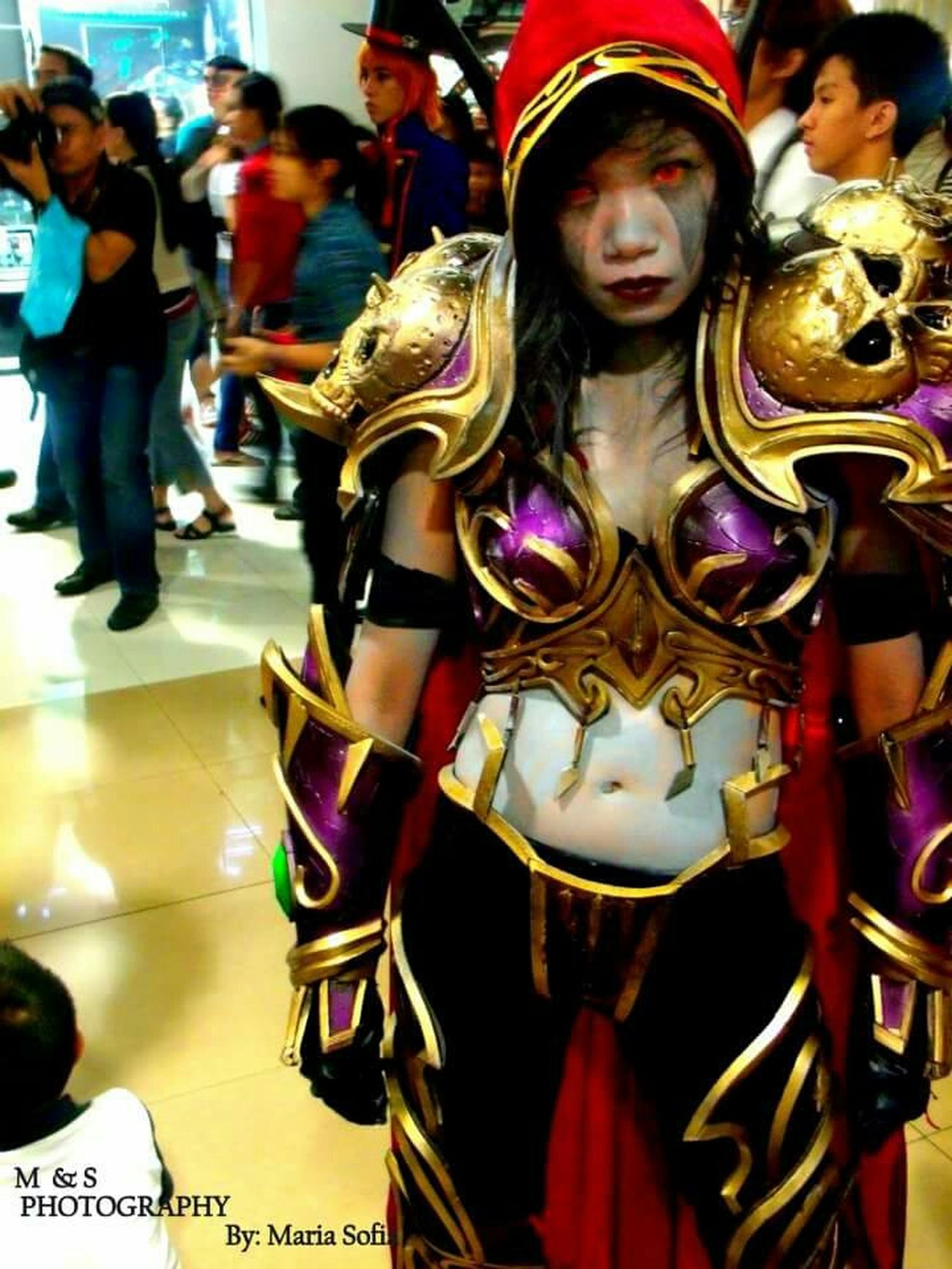Stand Out From The Crowd Cosplayer Dota Cosplaying
