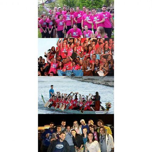 Dragon Killers! Mylovelyteam DragonKillers Dragonboating Dunairegatta LoveThem  FirstPlace Pinkteam Night Party Padding Budapest Hungary Mik Watersport