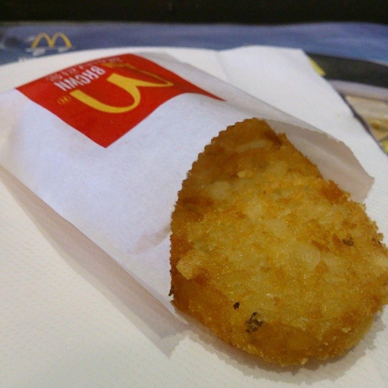 맥도날드 해쉬브라운 먹스타그램 맥도날드 해쉬브라운
