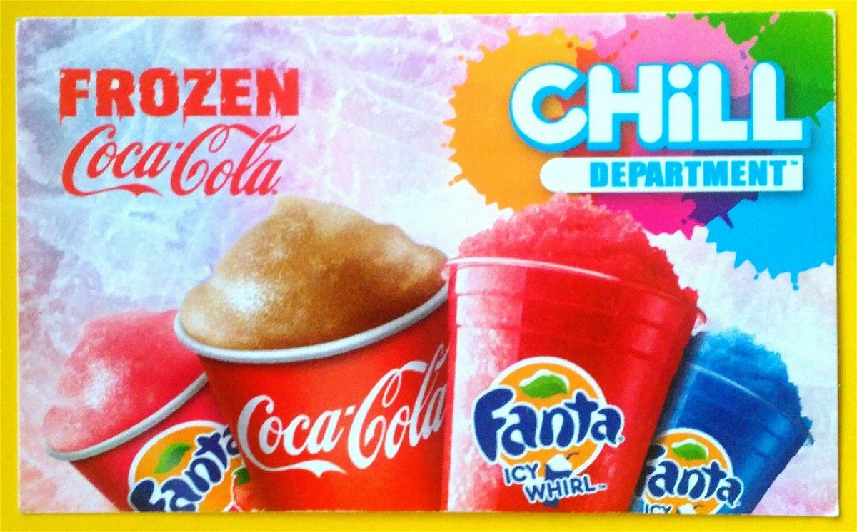 CHiLL DEPARTMENT ™ Frozen Coca~Cola Advertising Loyalty Cards Loyalty Card Drink Coca~cola ® Coke Fanta Frozen Fanta Coca~Cola ® Refreshing Coca-cola Drink Coca-cola Coca Cola ✌ Coca-Cola ❤ Coke :) Cocacola Coca Cola *-* Coca Cola Drinking Coke Enjoy Coca~Cola
