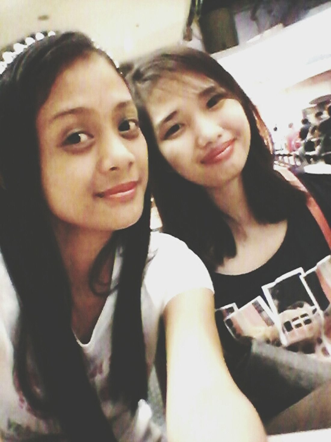 Bonding!! Bestfriends <3 Sissy  At The Mall Just Smile