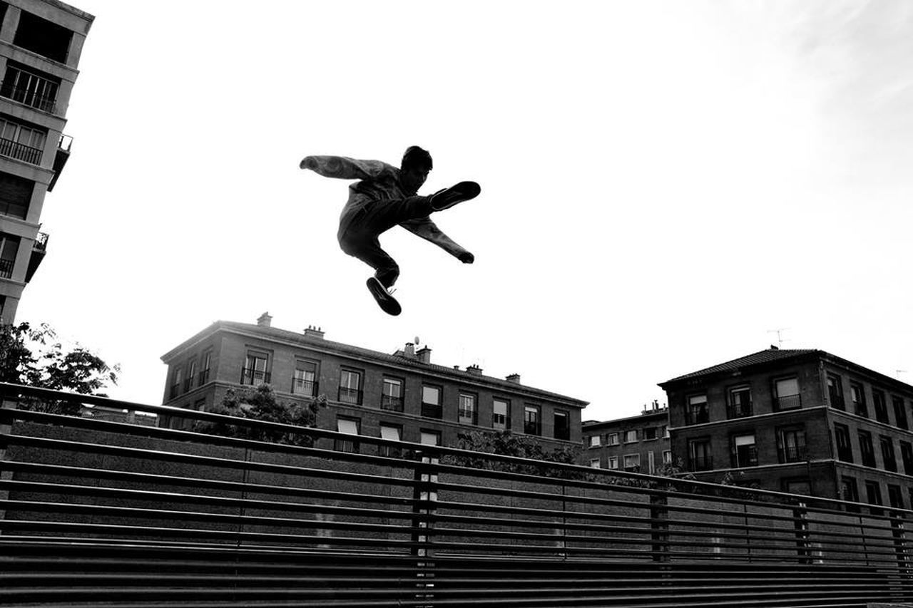 """ Magic jump "" Marseille . Silhouette Blackandwhite Popular Photos Awesome Performance Jump Parkour Urban Streetphoto_bw Eye4photography  Photography In Motion"