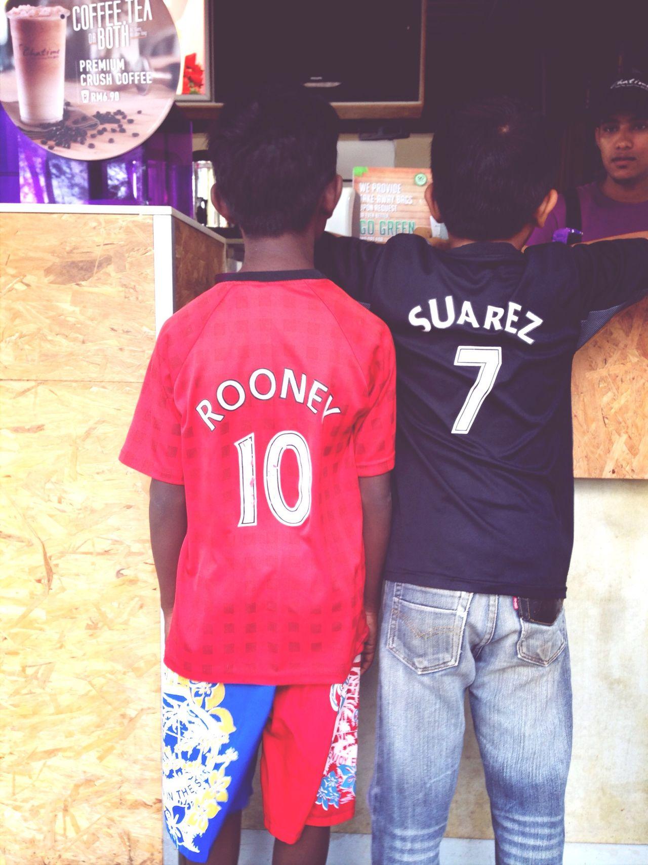 Rooney and Luis Suarez