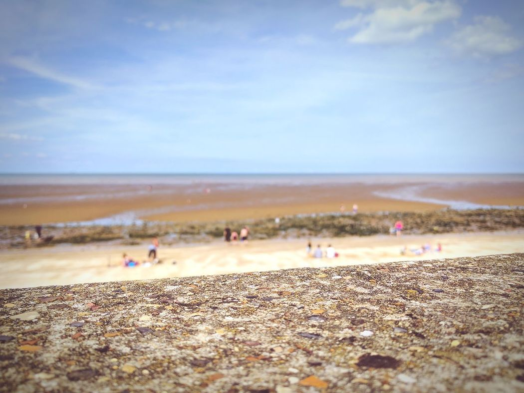 Beach Time Beach Sand Sky Outdoors Landscape Nature Day Scenics Sand Dune People Sea Beauty In Nature Low Tide Colours British Beaches Water Pebble Live For The Story Pepple Beach