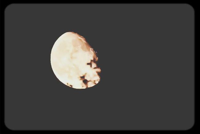 Mr.Moon Man In The Moon Night Sky
