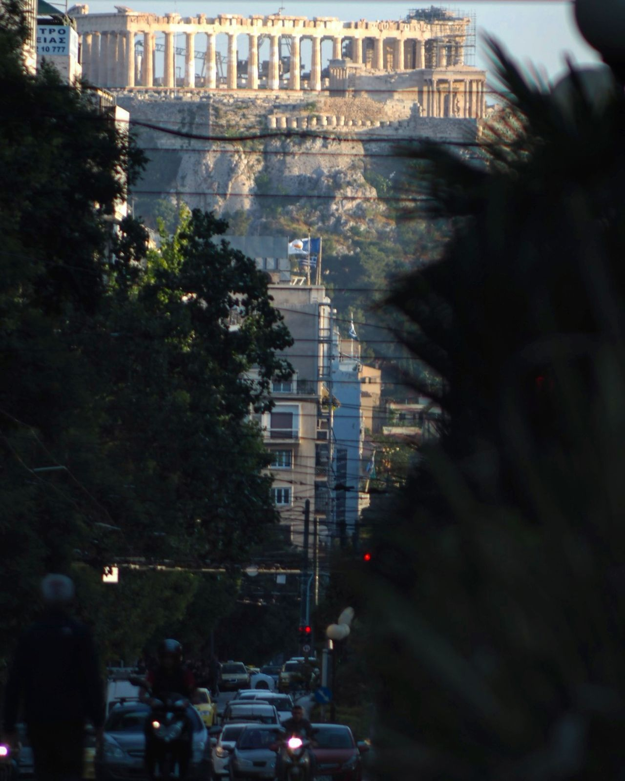 Architecture Tree Built Structure Car High Angle View Building Exterior City Travel Destinations Arts Culture And Entertainment Outdoors Day No People Cityscape Sky Parthenon Acropolis Greece Parthenon Athens Greece Athens City Athens, Greece Neighborhood Map
