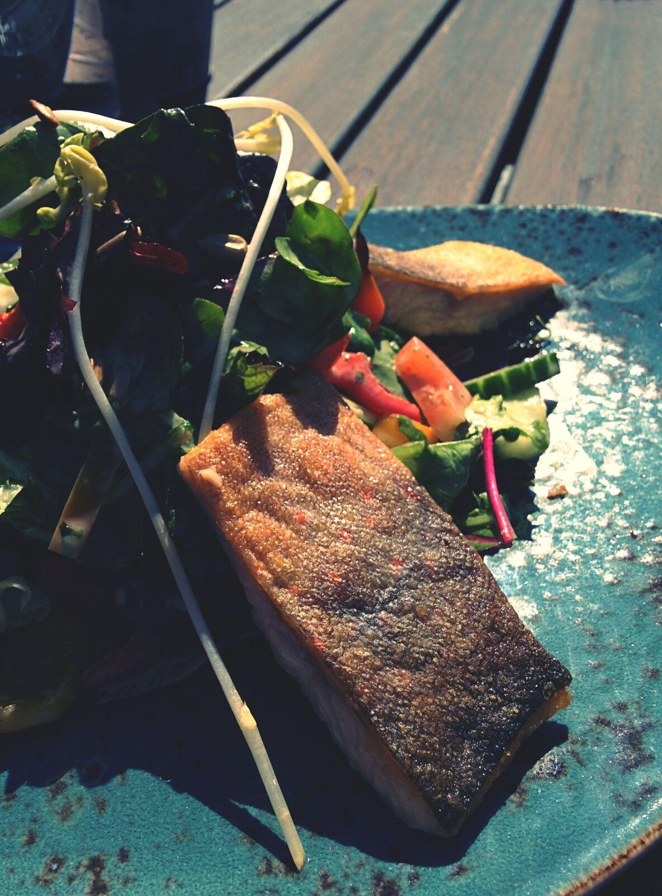 Getüpfelter Seesaibling als Freitagsfisch!