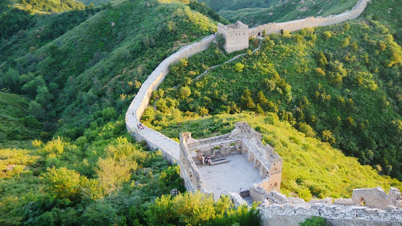 Tree Green Color Nature Landscape Outdoors Beauty In Nature Thegreatwall The Great Wall Of China The Great Wall BEIJING 北京 BEIJING北京CHINA中国BEAUTY China In My Eyes China JInshanling Great Wall Welcomeweekly Welcome Weekly