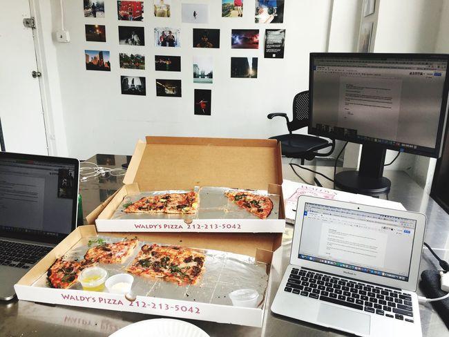 Hackathon EyeEm NYC Pizza