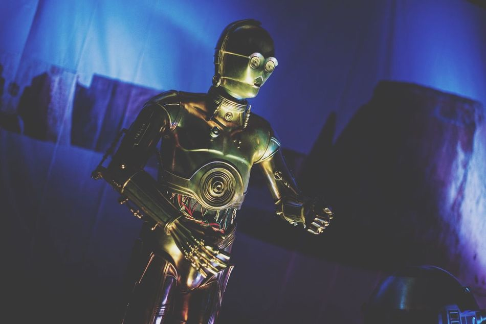 Gas Mask Men Indoors  Headwear Close-up C3po Star Wars