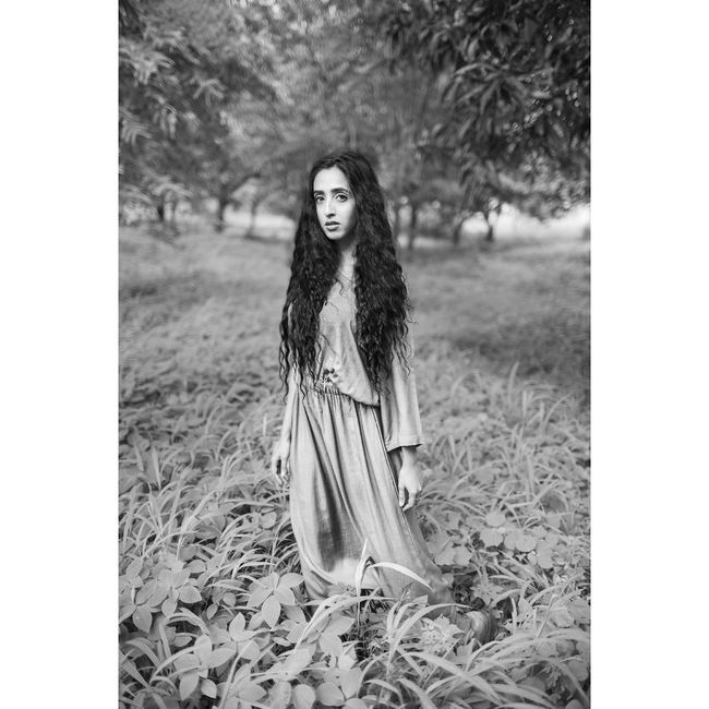 Portrait Casual Clothing Nature Tranquility Long Hair Daydream First Eyeem Photo