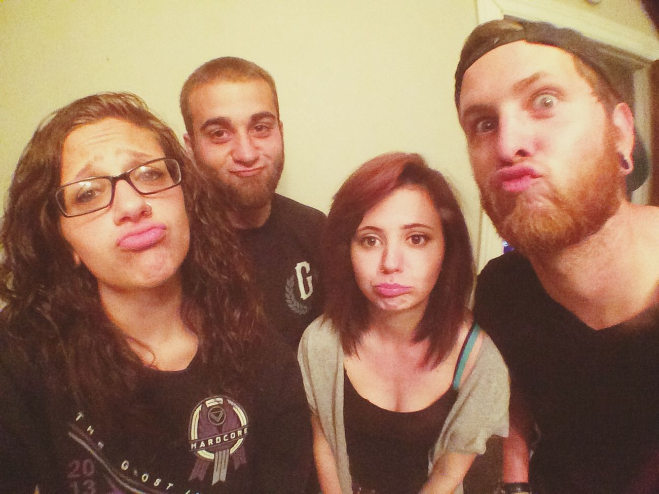 Duck Lips LMAO Sarcasm Goofballs Good People Good Time Friends