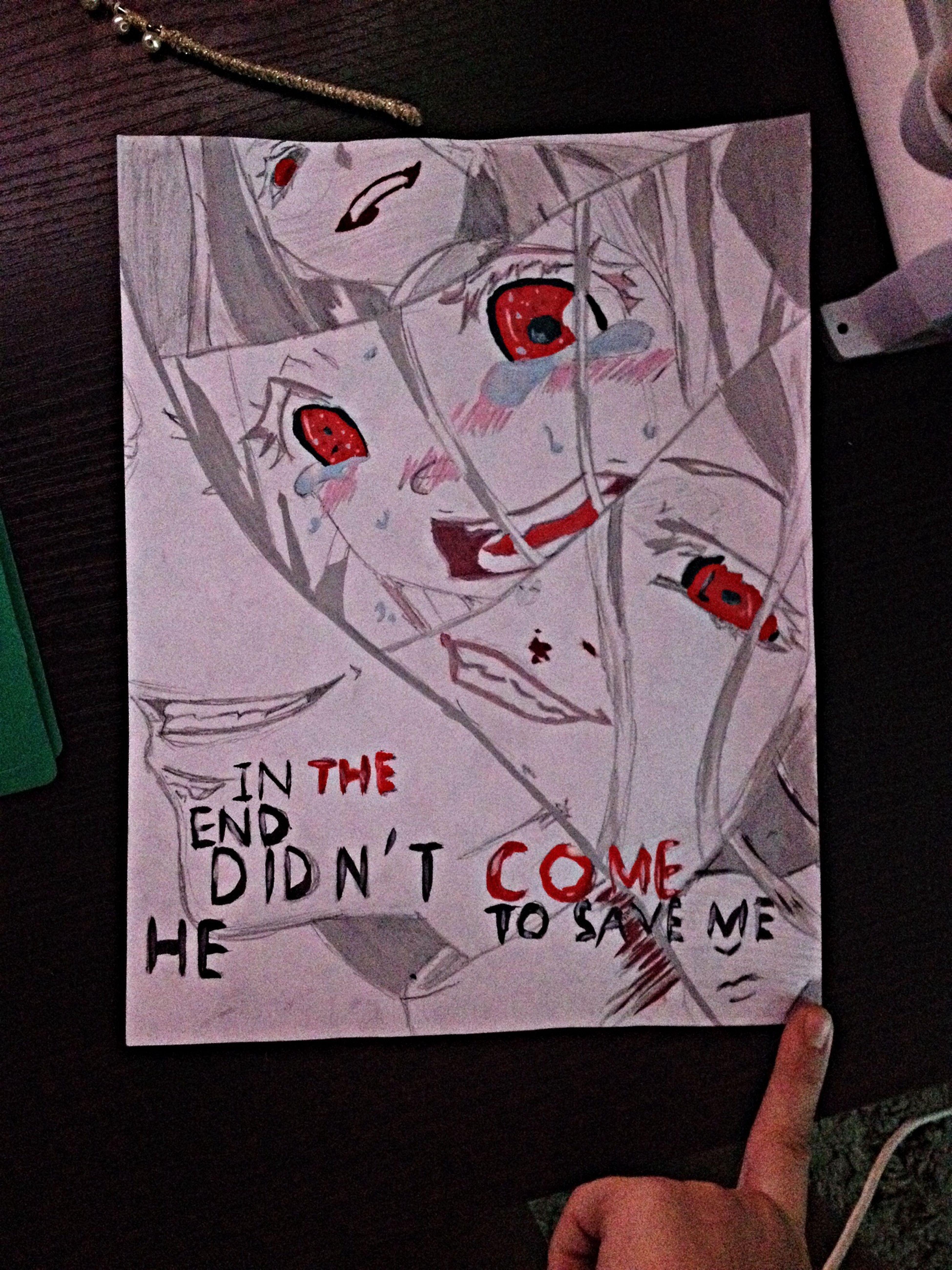 Shiro  Deadmen Wonderlad Anime draw paints his most favorite Shiro * ^ *