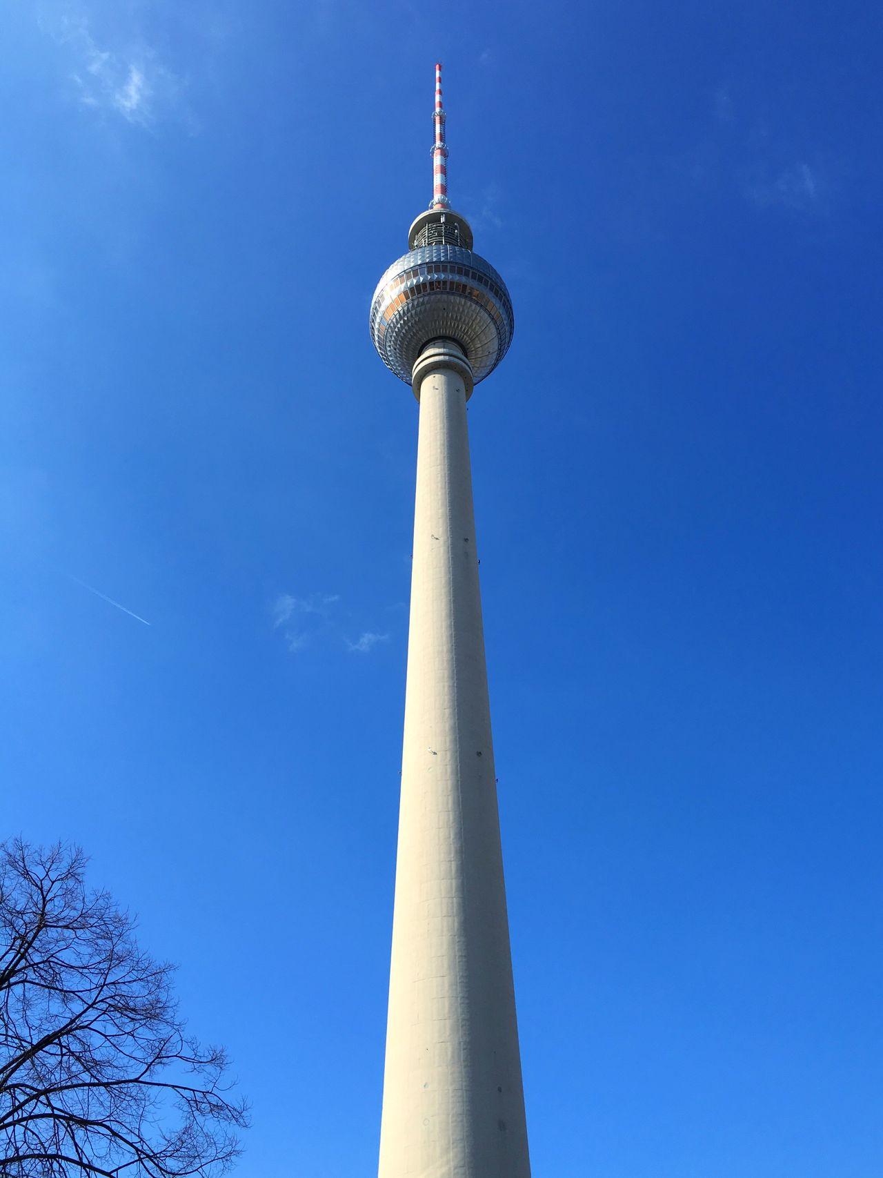 Berlin Berliner Ansichten Berlin Photography Fernsehturm Fernsehturm Berlin  Tvtower Tvtowerberlin Alexanderplatz Sky Blue Sky Blue