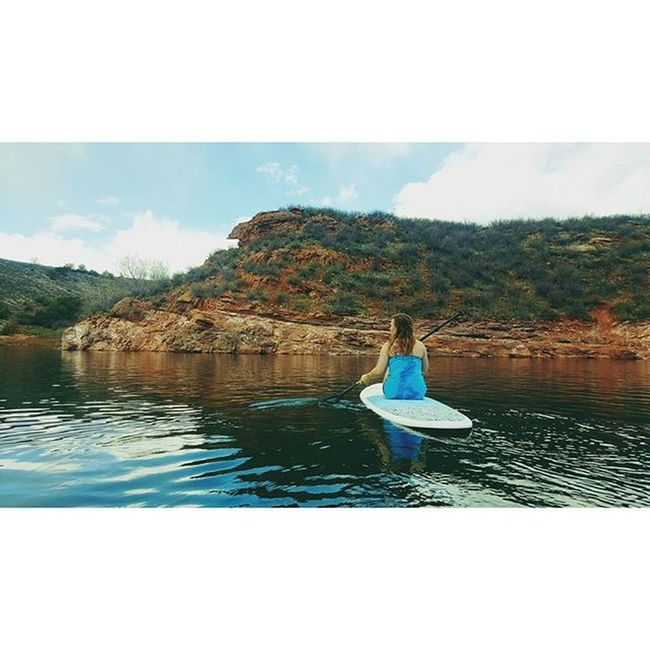 Back at it Fortcollins Spring Paddleboard Adventure Nature Getoutdoors