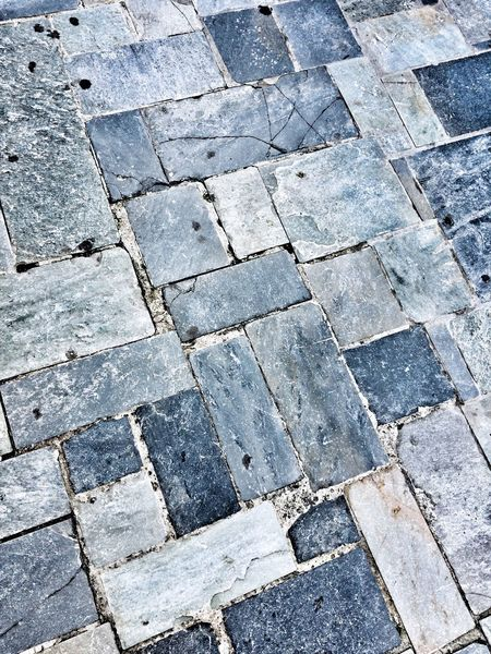 Street puzzle Pavement Patterns Pavement Streetphotography Street Stone Tile Full Frame Backgrounds Pattern Textured  Tiled Floor Stone Material Close-up High Angle View