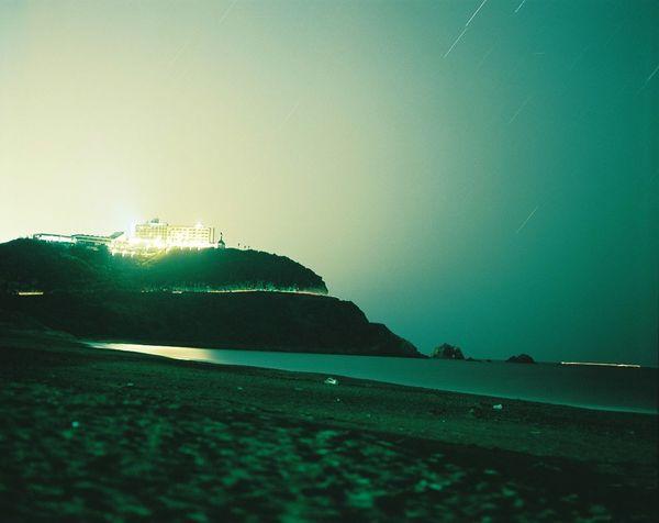 Night Lights Film Film Camera Mamiya RB67 120mm