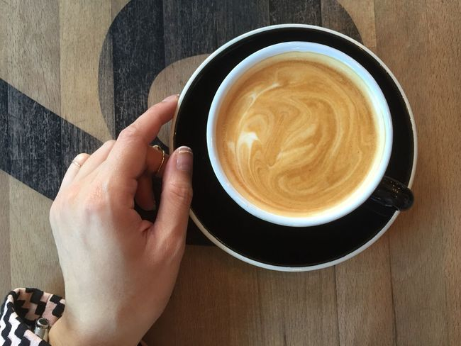 Flat White In My Mouf | Coffee Time Starting The Day My Favorite Breakfast Moment