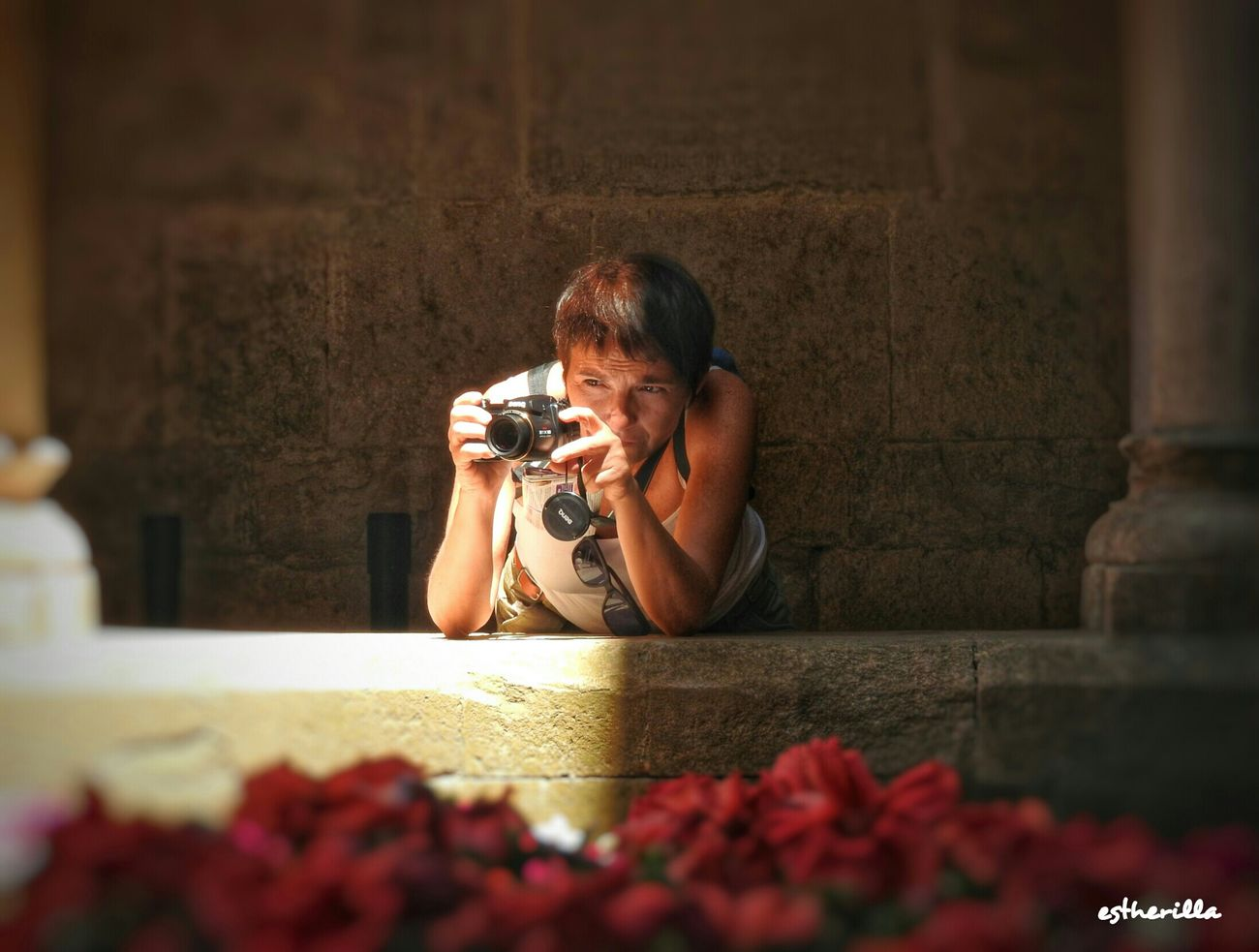 Girona en Tempsdeflors Light And Shadow Photographer Girona Gironatempsdeflors Girona Temps De Flors 2015 CazadorCazado Sound Of Life