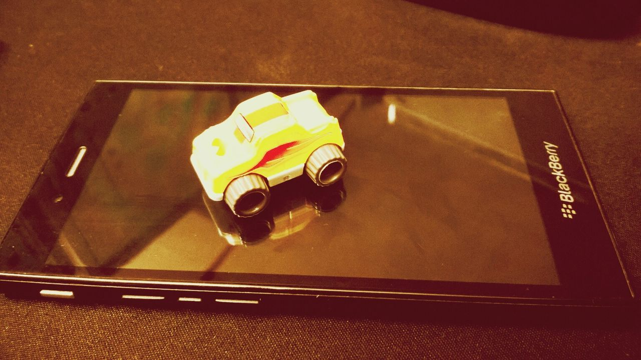 this small mobile and big car is mine .. Toy Car Relaxing Blackberry Blackberry10