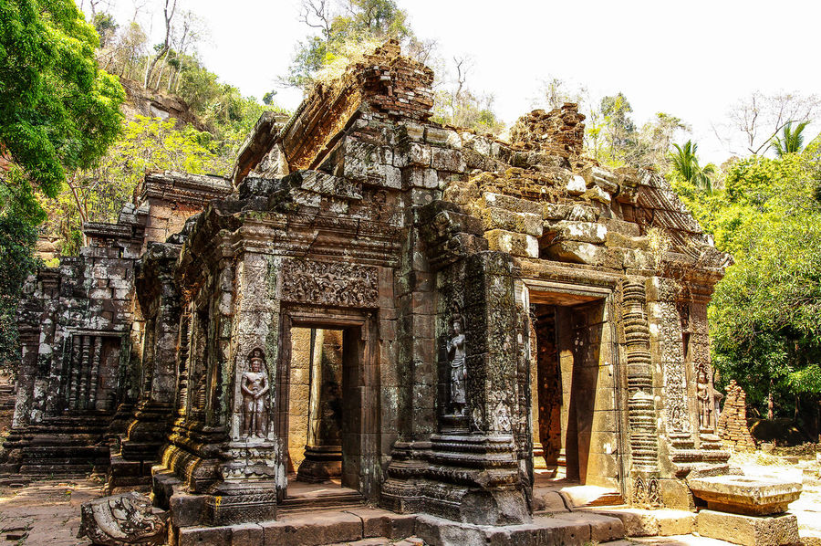 Wat Phou Architecture ASIA Buddha Buddhism Buddhist Temple Champasak Culture Detail History Khmer Laos Old Buildings Relief Religion Religious Architecture Ruin Ruins Structure Temple Temple - Building Traveling Unesco Unesco World Heritage UNESCO World Heritage Site Wat Phou