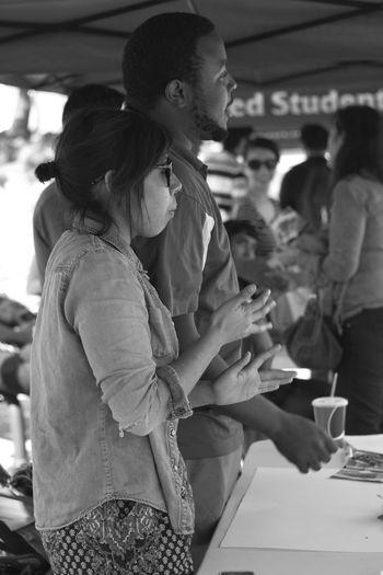 Photography Blackandwhite Black And White Photography Candid Portrait Canont3i 50mm Chaffey College