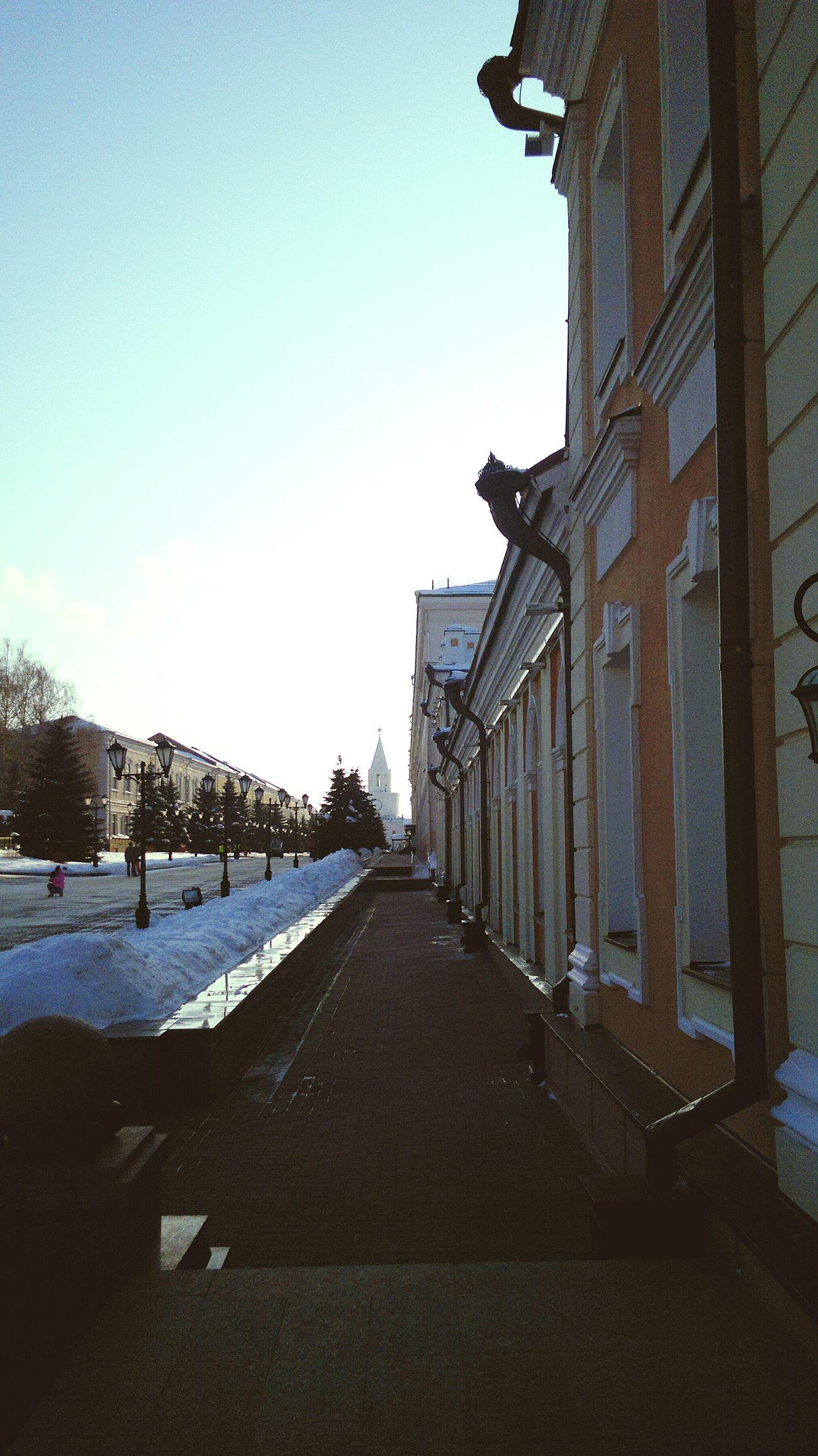Kazan Clearsky Architecture Thekremlin KazanKremlin Early Morning History Emptystreet