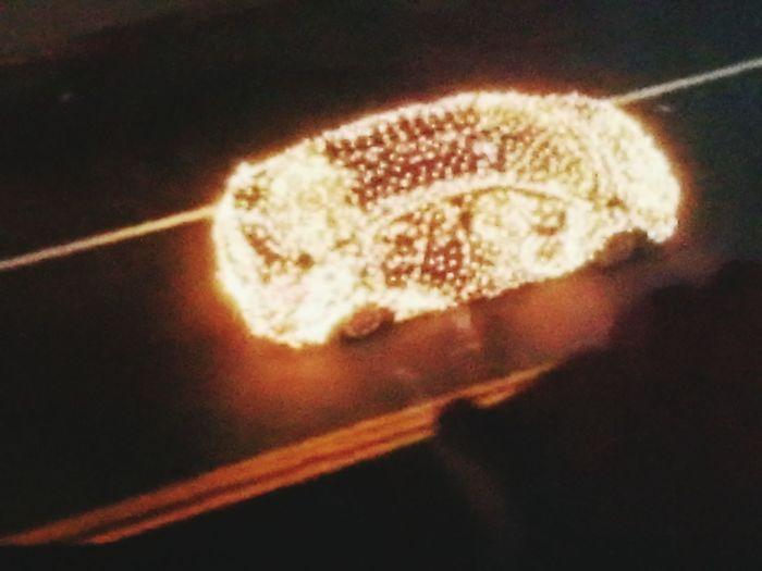 Enlighted car ufo