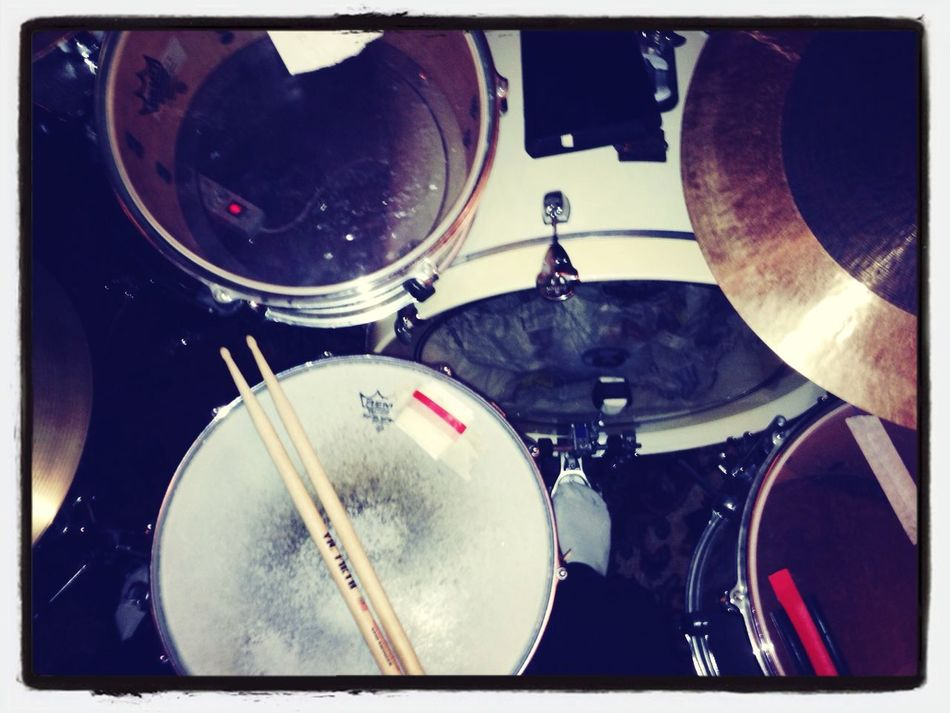 Music is my self expression, the extension of my soul. Let's drum! MusicDrumming Passions