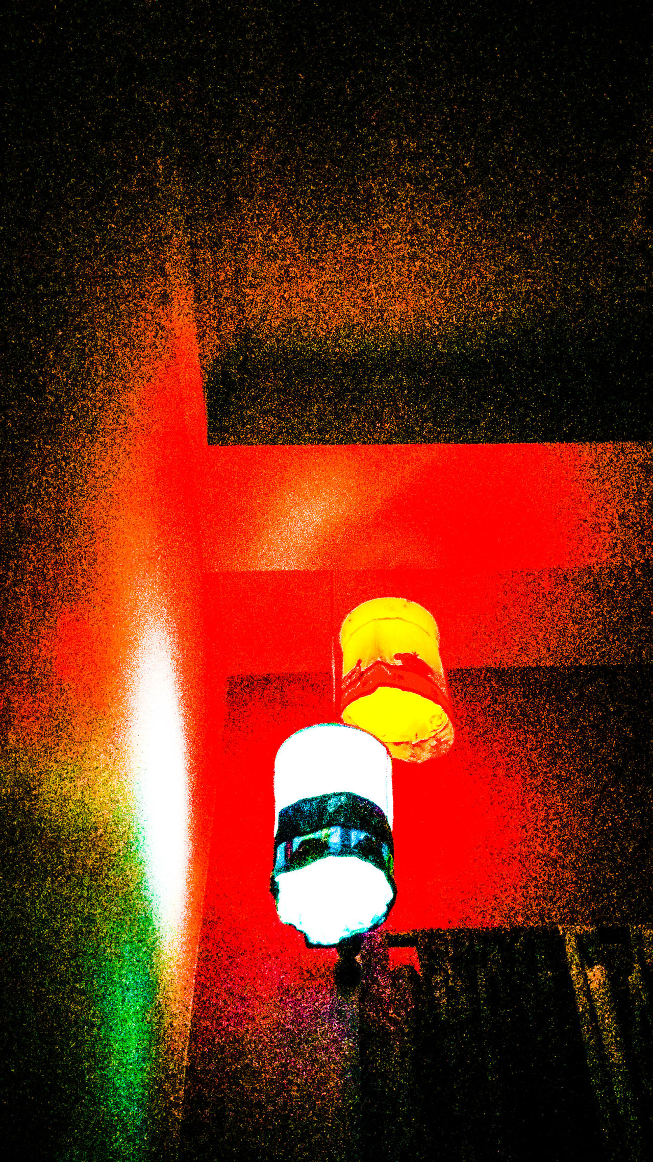 Some Nights.. AtNight Lamps Lampshade Hanging Itisaphoto Redandblue Lights Grainy MyRoom Corner Hanginglamps Eyeforphotography EyeEm Gallery Itsnotapainting