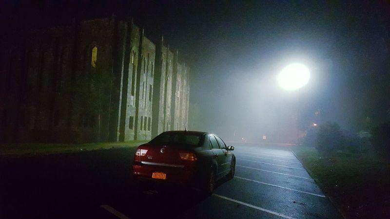 Heart racing Spooky Night Car