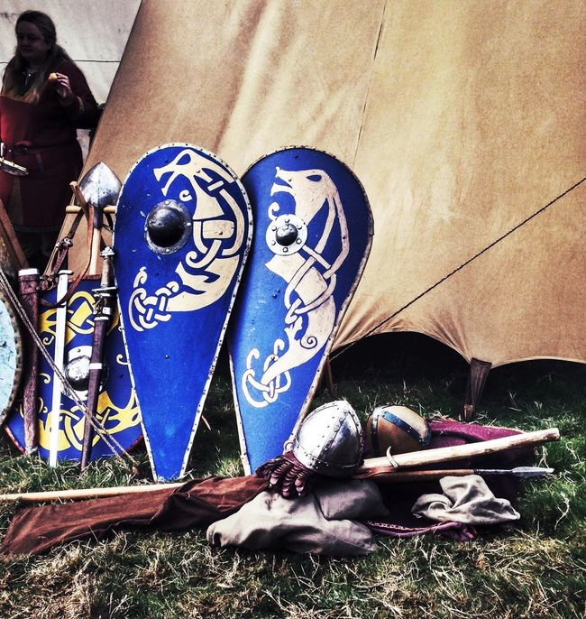 Shield Shields Warrior Saxons Normans Fighting History