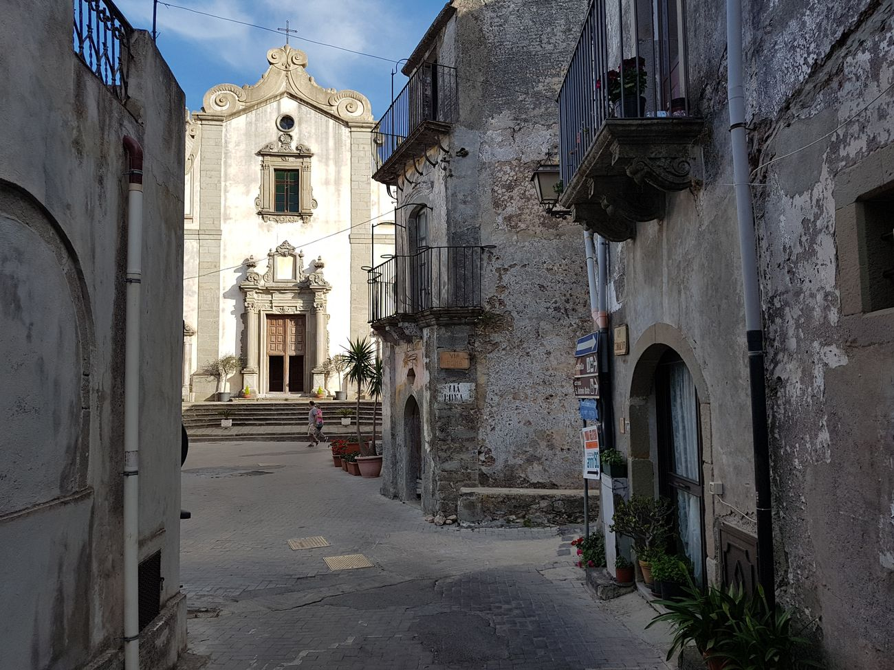 The Church Sicily Italy Italia Forza D'agrò Church Town Italian Typical Architecture History Religion Built Structure No People Travel Destinations Day Outdoors Architecture Europe Sunset Photographing Travel Photography Tourism Godfather Famous Place Iconic