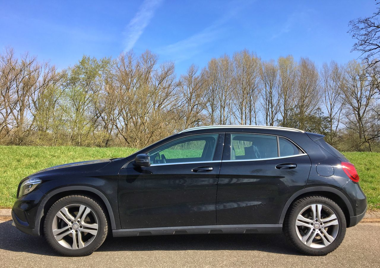 …and this GLA; from Friedberg ⇢ Germersheim. Done! Mercedes-Benz