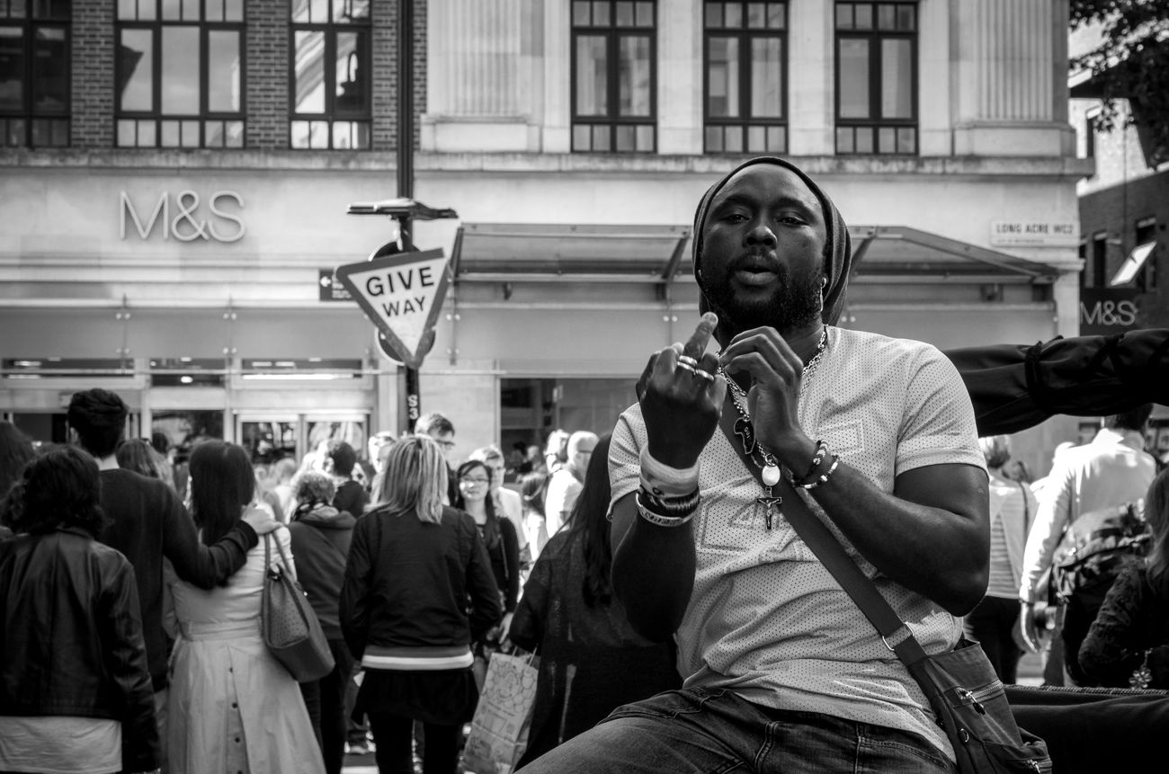 Black & White Black And White Photography Black&white Blackandwhite Blackandwhitephotography Candid Covent Garden  EyeEm Best Shots London Max Maxgor.com Mono Monochromatic Monochrome Monochrome_life People Portrait Real People Showcase: February The Week On EyeEm Urban