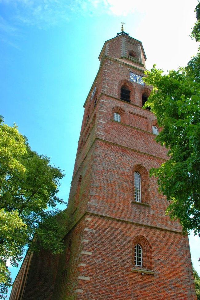 Taking Photos Church Eenrum