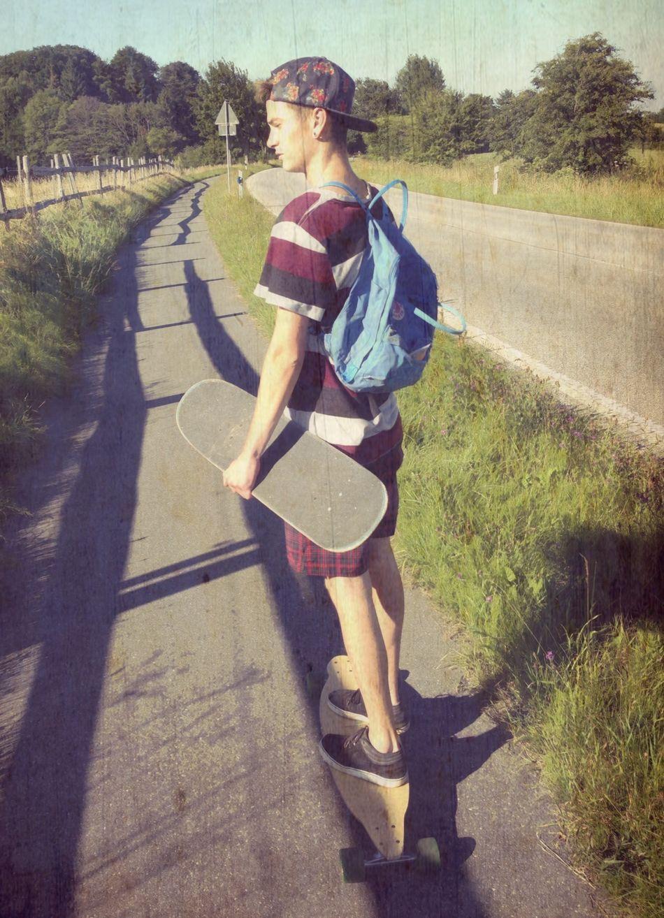 ♡ Longboarding Skateboarding Nature Love