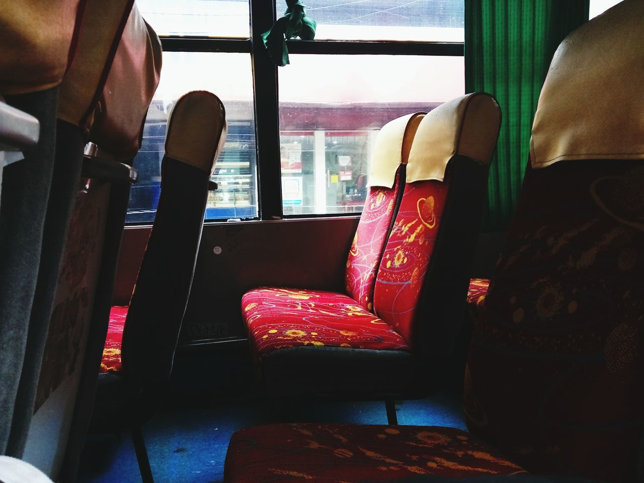 Bus Bus Seat Transportation Asian Culture Empty Empty Bus Empty Seat