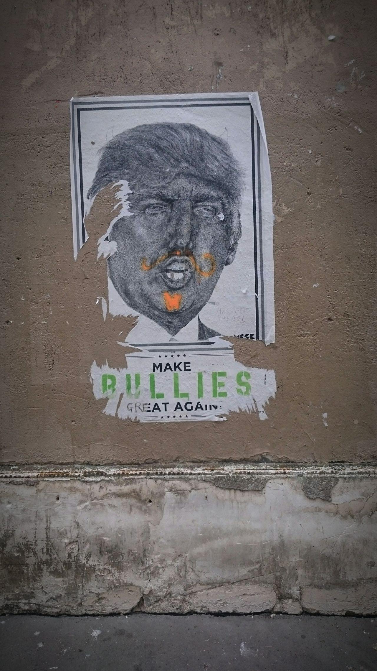Paris Political Street Art Politics Donald Trump Street Art Us Election