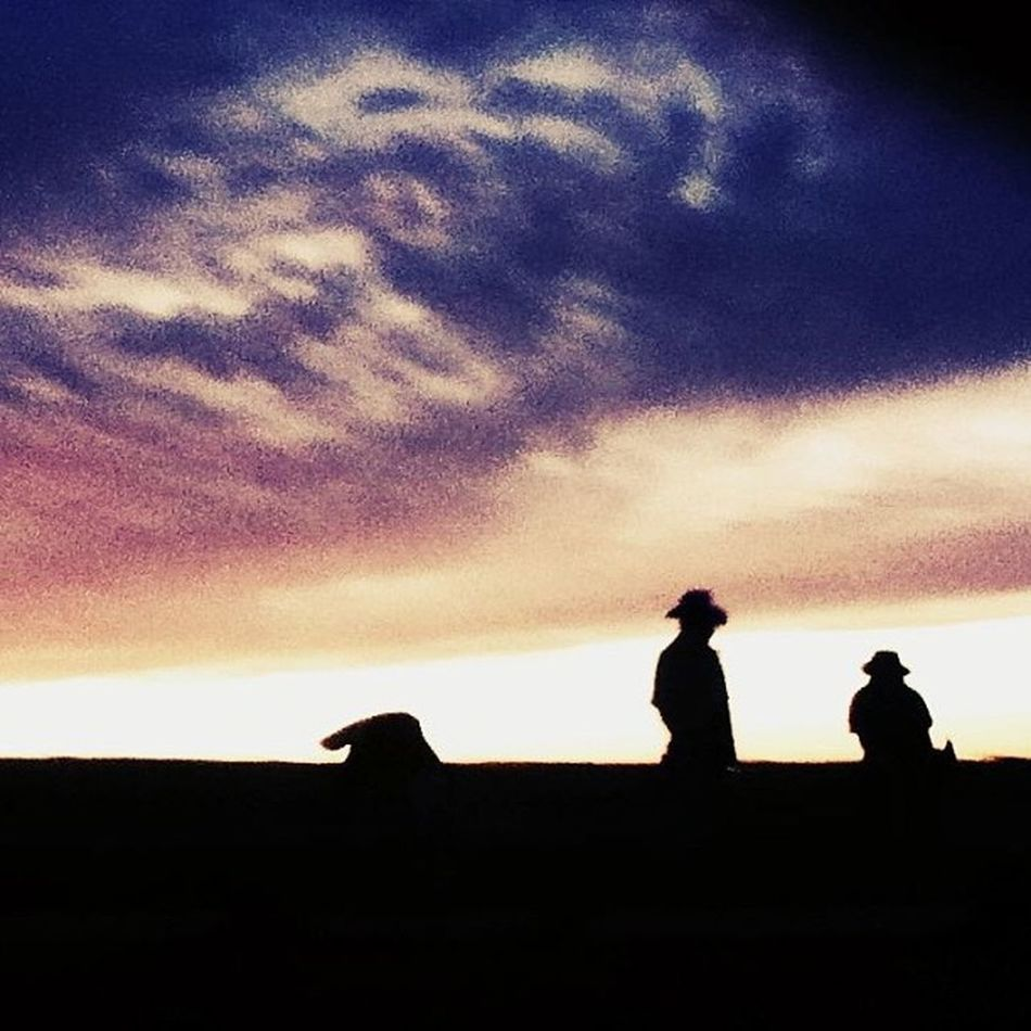 Salinas valley sunset